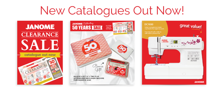 Janome Catalogue June 2019