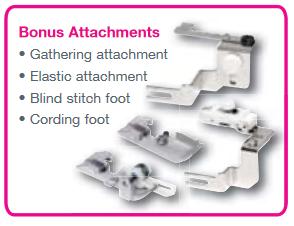 8002DX Bonus attachments