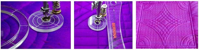Bernina Echo-quilting Clips