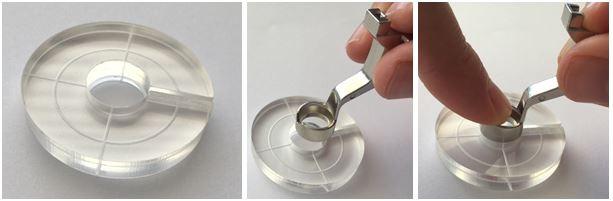 Bernina Echo-quilting Clips Attaching
