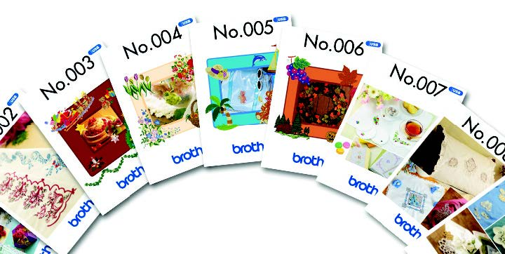 Brother Innov-is NV180D Embroidery USB Library