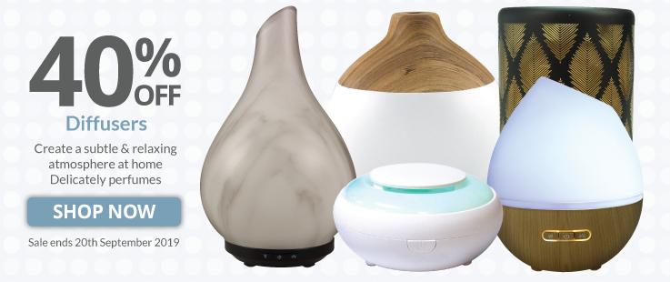 40% Off Diffusers