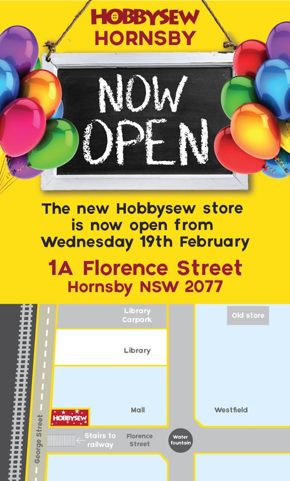 Hobbysew Hornsby Sale