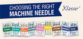 Click to download Klasse Machine Needle Guide